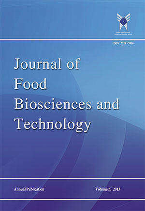 Journal of Food Biosciences and Technology